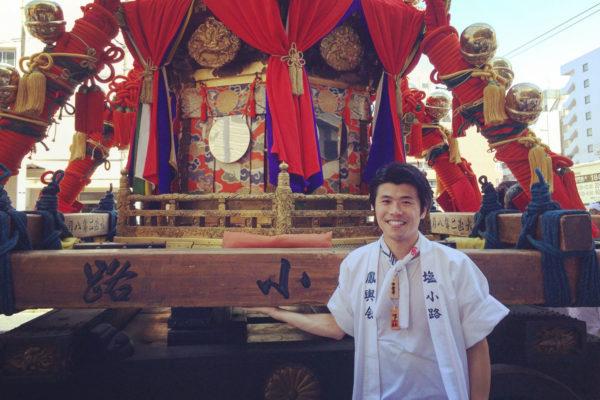 伏見稲荷大社のお神輿にも参加させていただきました。