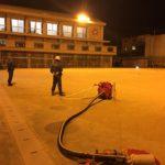消防団の訓練最終日