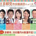 京都党・市会議員団ニュースVol.10発行!