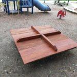 【光徳公園】ベンチが直りました!