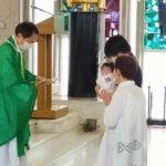 娘の洗礼式でした!